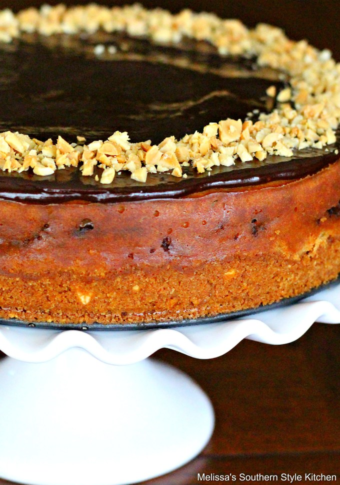 Baked Peanut Butter Cup Cheesecake