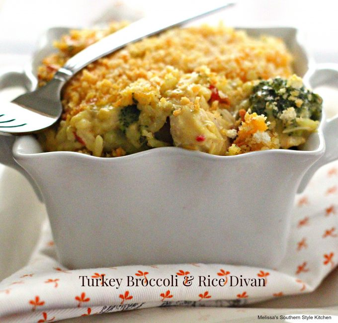 Turkey Broccoli & Rice Divan