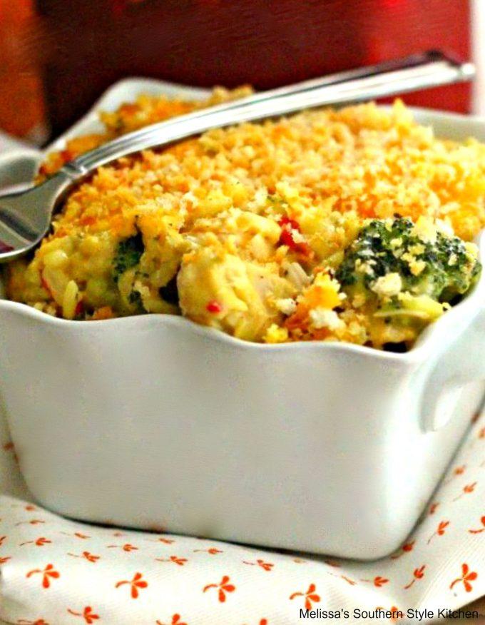 Turkey Broccoli Rice Divan