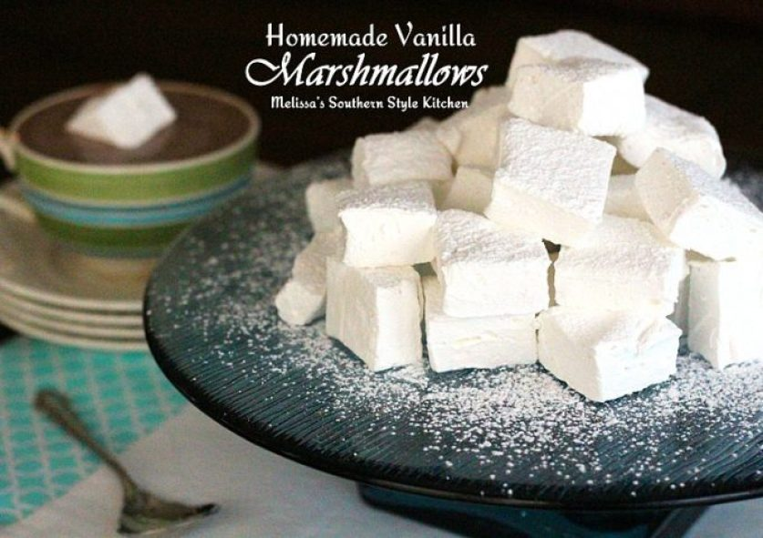 Homemade Vanilla Marshmallows