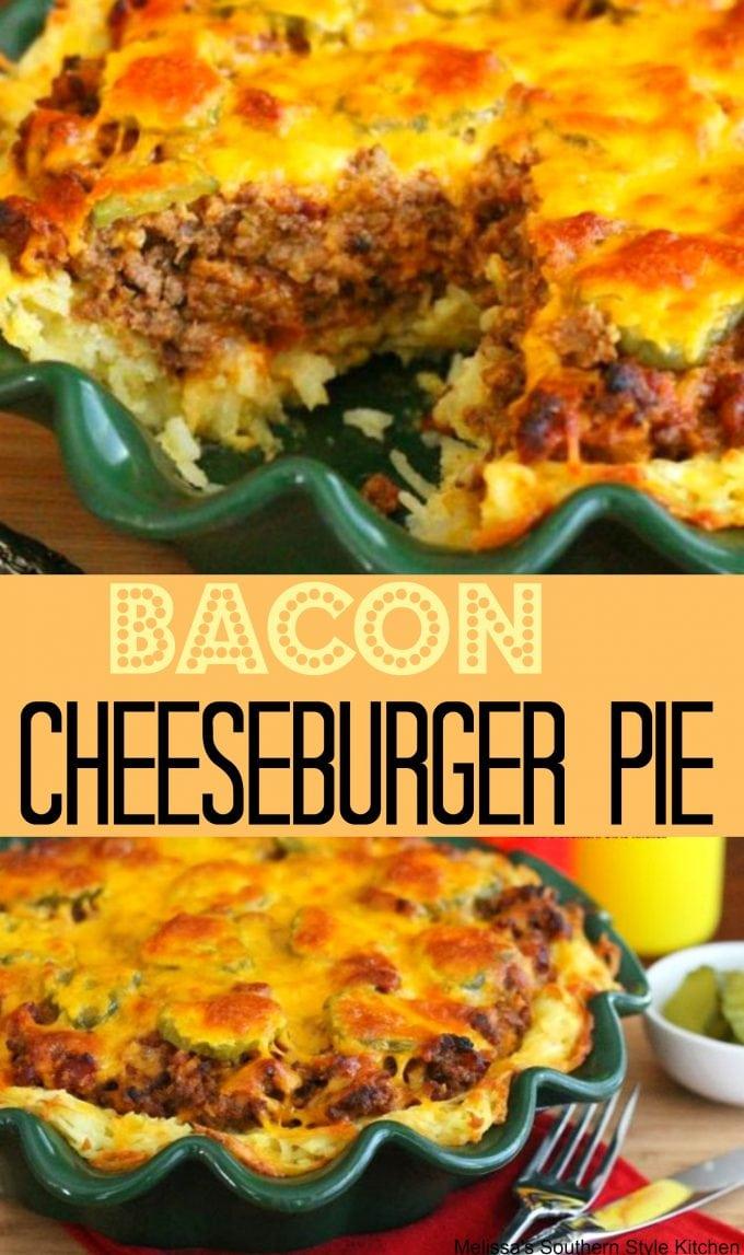Bacon Cheeseburger Pie