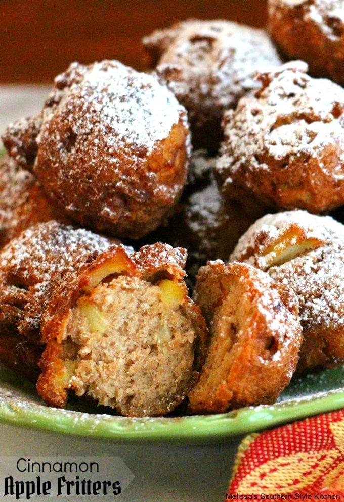 Cinnamon Apple Fritters
