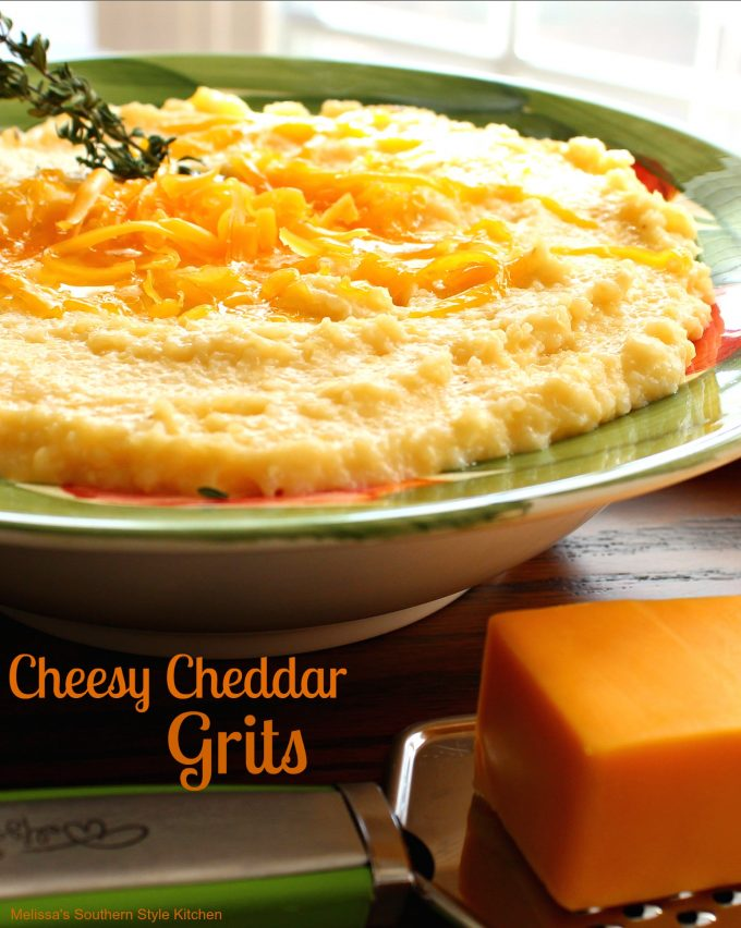 Cheesy Cheddar Grits