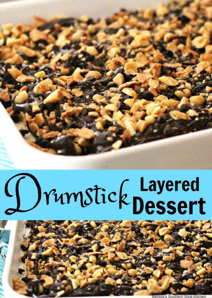 Drumstick Layered Dessert