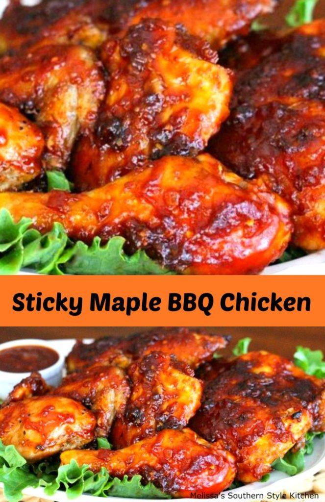 Sticky Maple Barbecue Chicken