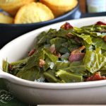 Cajun Collard Greens with Bacon