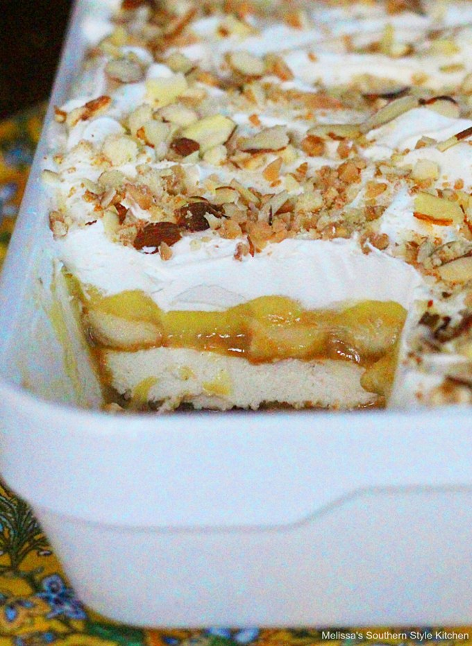 Caramel Banana Pudding Lush