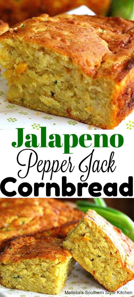 Jalapeno Pepper-Jack Cornbread