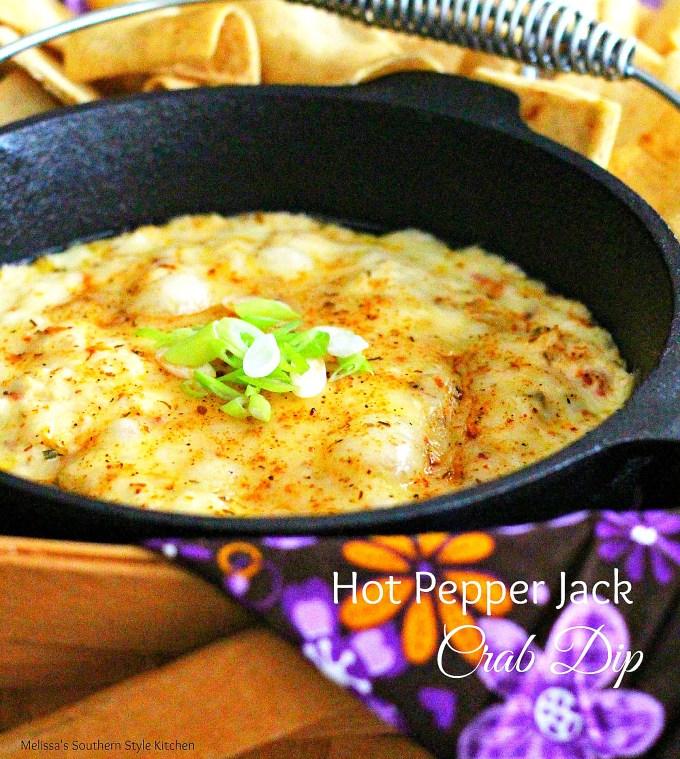 Hot Pepper Jack Crab Dip