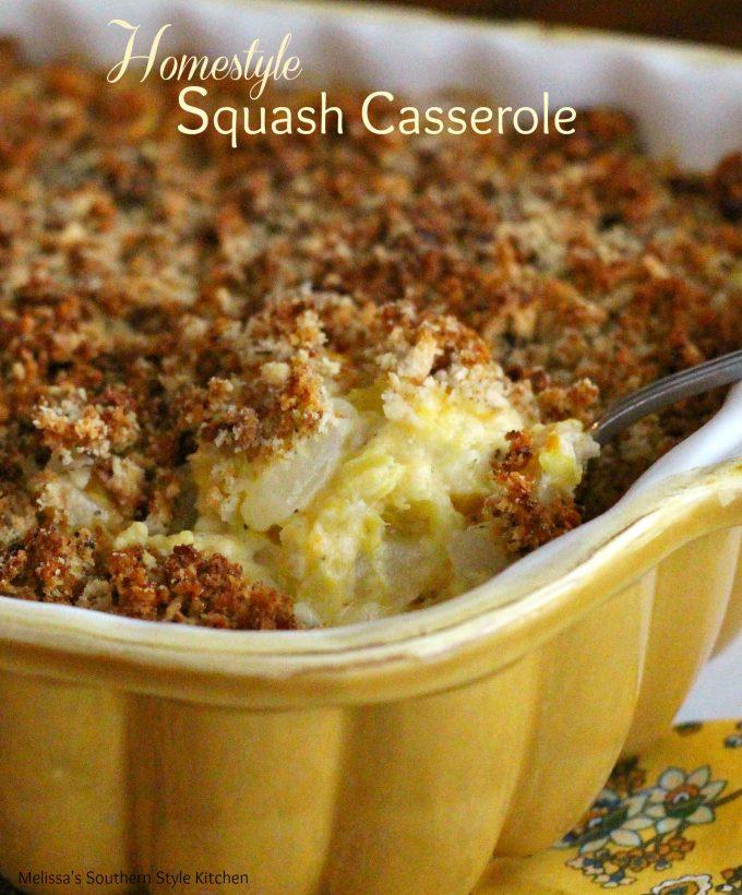 Homestyle Squash Casserole