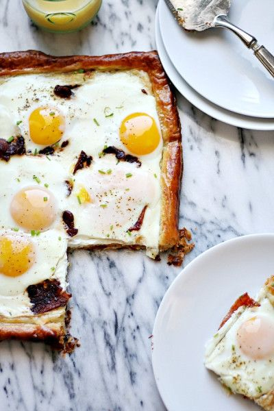 Bacon-and-Egg-Puff-Pastry-Breakfast-Tart