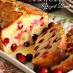 Cranberry Orange Yogurt Bread