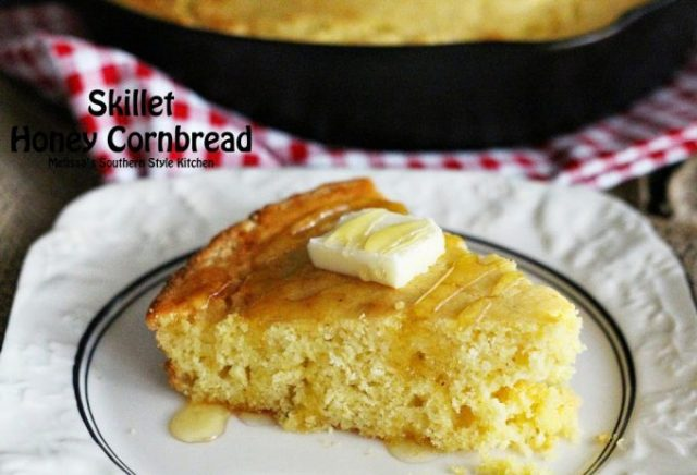 Skillet Honey Cornbread