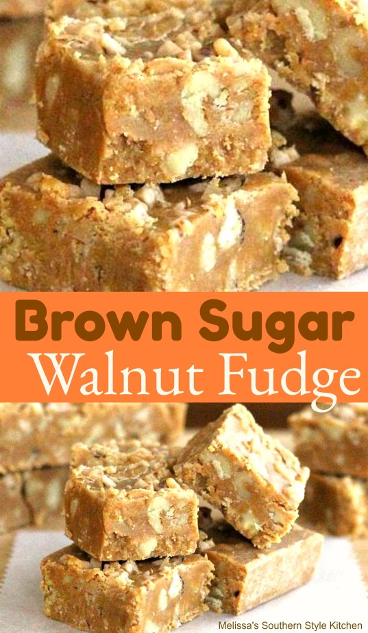 Brown Sugar Walnut Fudge