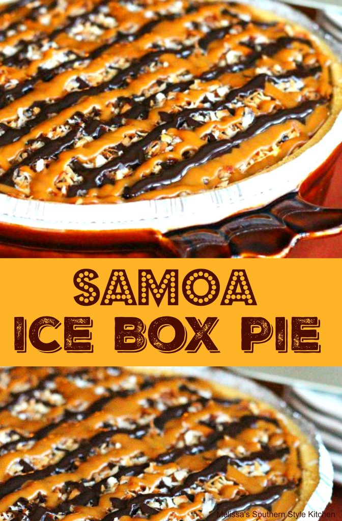 Samoa Ice Box Pie