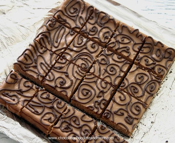 CTriple Chocolate Cheesecake Bars