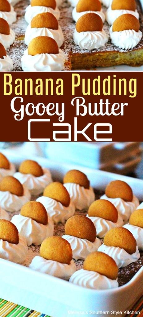 Banana Pudding Gooey Butter Cake