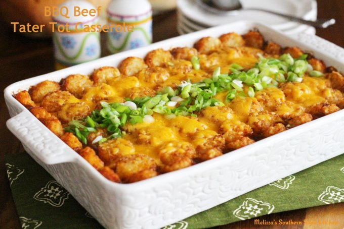 Barbecue Beef Tater Tot
