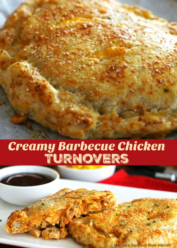 Creamy Barbecue Chicken Turnovers