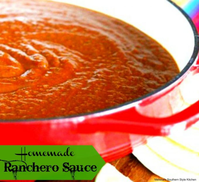Homemade Ranchero Sauce