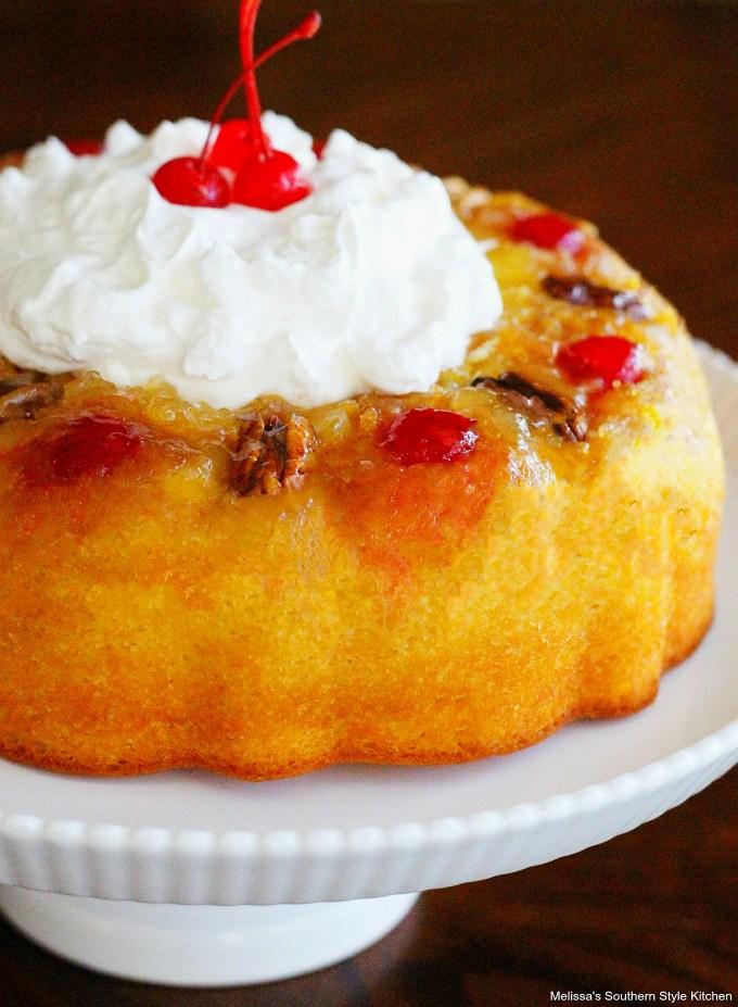 Pineapple Upside Down Bundt Cake