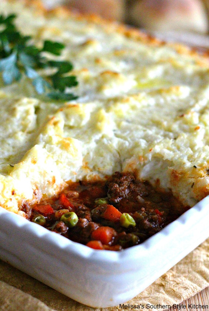 Cottage Pie With Mashed Cauliflower