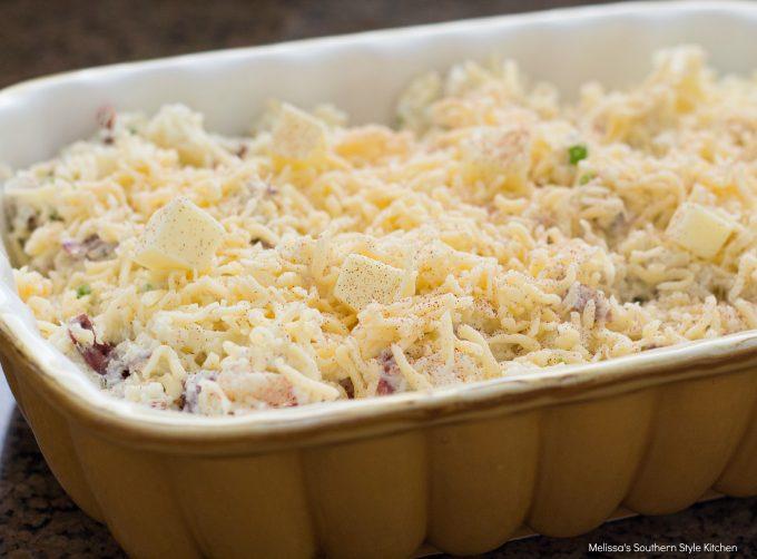 Sour Cream And Onion Smashed Potato Casserole