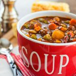 Barbecue Hamburger Soup