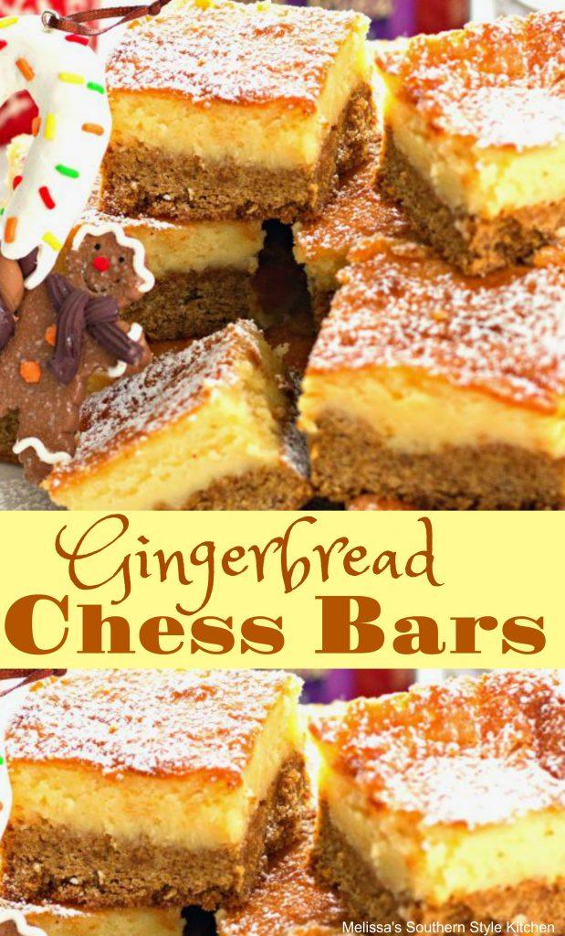 Gingerbread Chess Bars