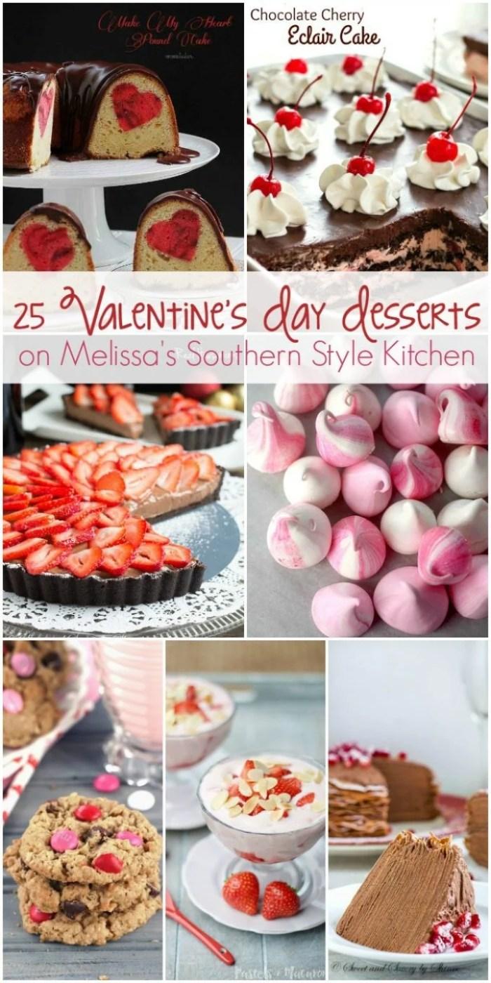 25 Valentine's Day Desserts HERO