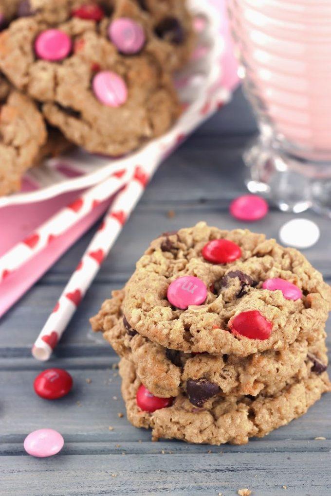 Monster Sweetheart Cookies