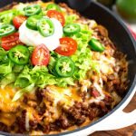 Easy Cornbread Crusted Taco Pie