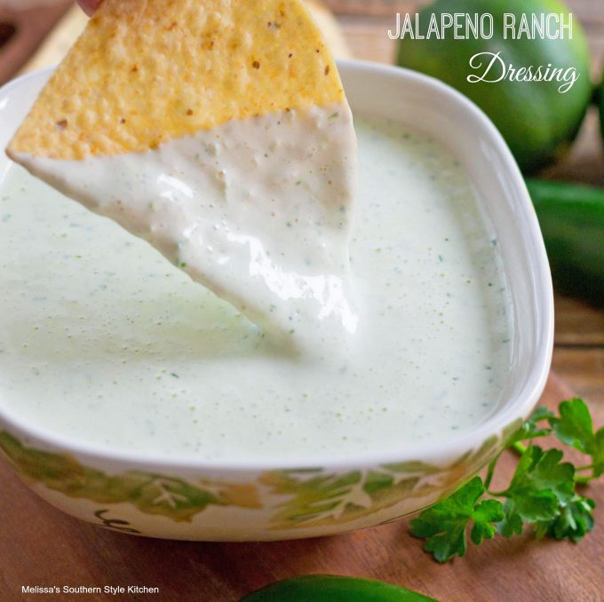 Jalapeno Ranch Dressing