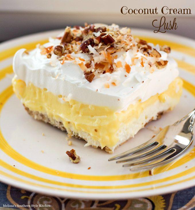 Coconut Cream Lush - melissassouthernstylekitchen.com