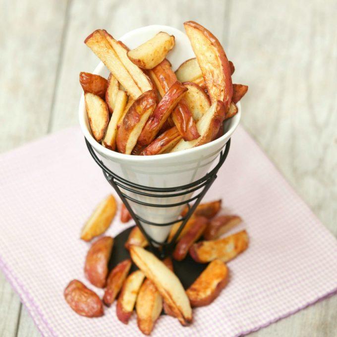 Salt & Vinegar Baked French Fries