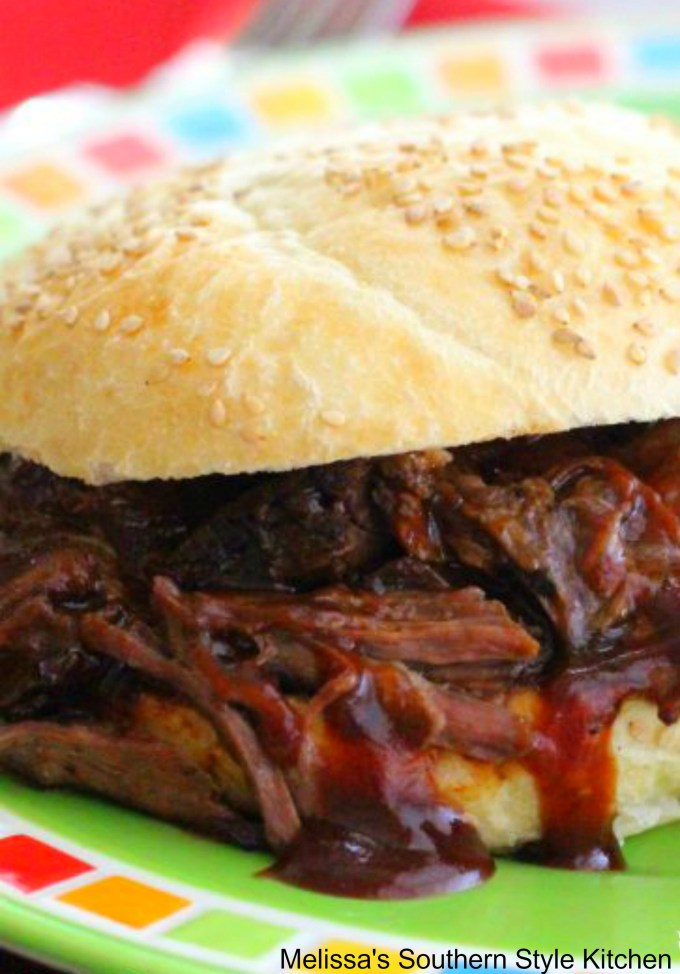 Slow Cooked Dr Pepper Barbecue Beef