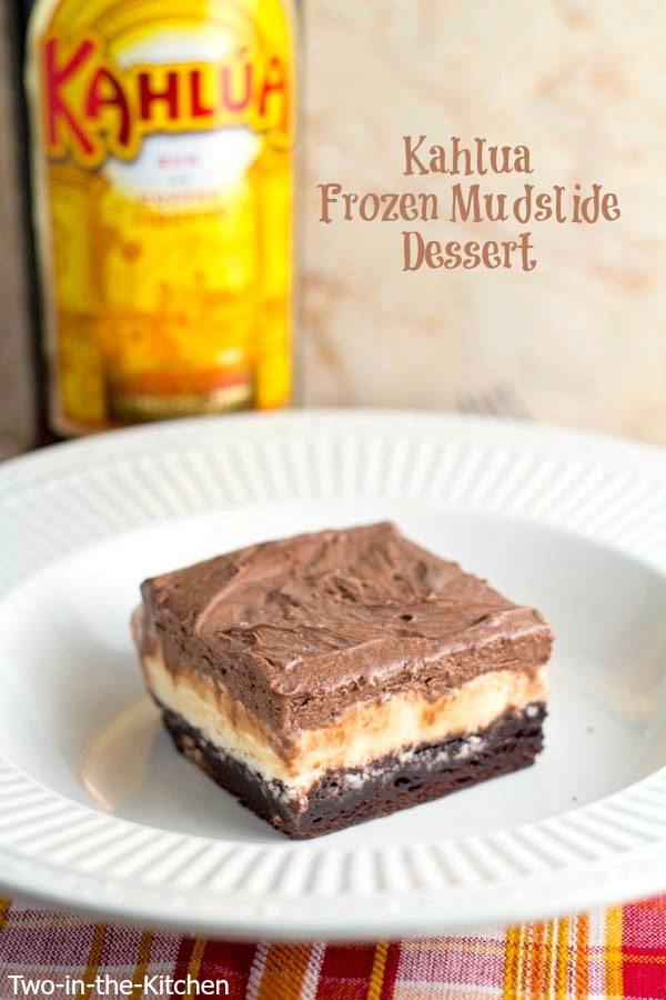 Kahlua Frozen Mudslide Dessert