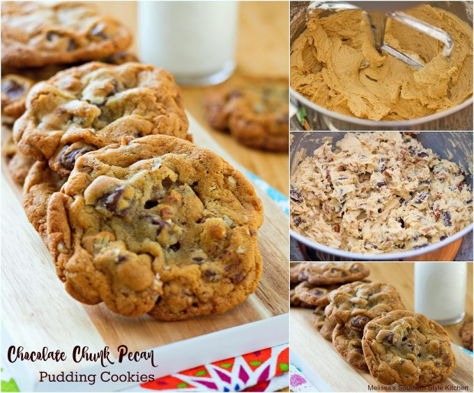 step-by-step images how to make chocolate chunk cookies