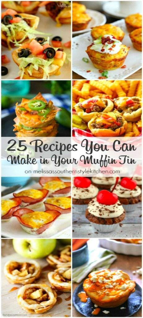 25 Recipes You Can Make in Your Muffin Tin