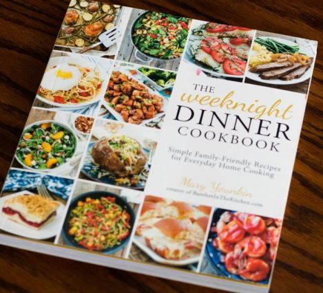 The Weeknight Dinner Cookbook cover