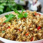 Italian Sausage Rice Pilaf