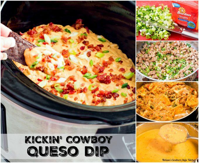 Kickin' Cowboy Queso Dip