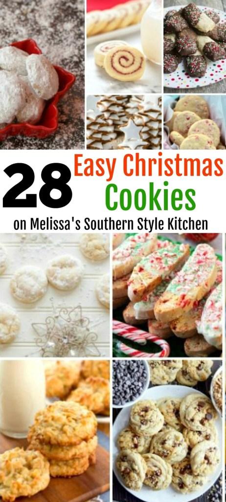 28 Easy Christmas Cookies