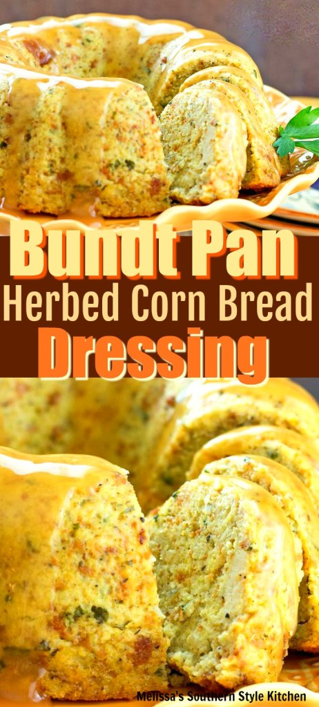 Bundt Pan Herbed Corn Bread Dressing