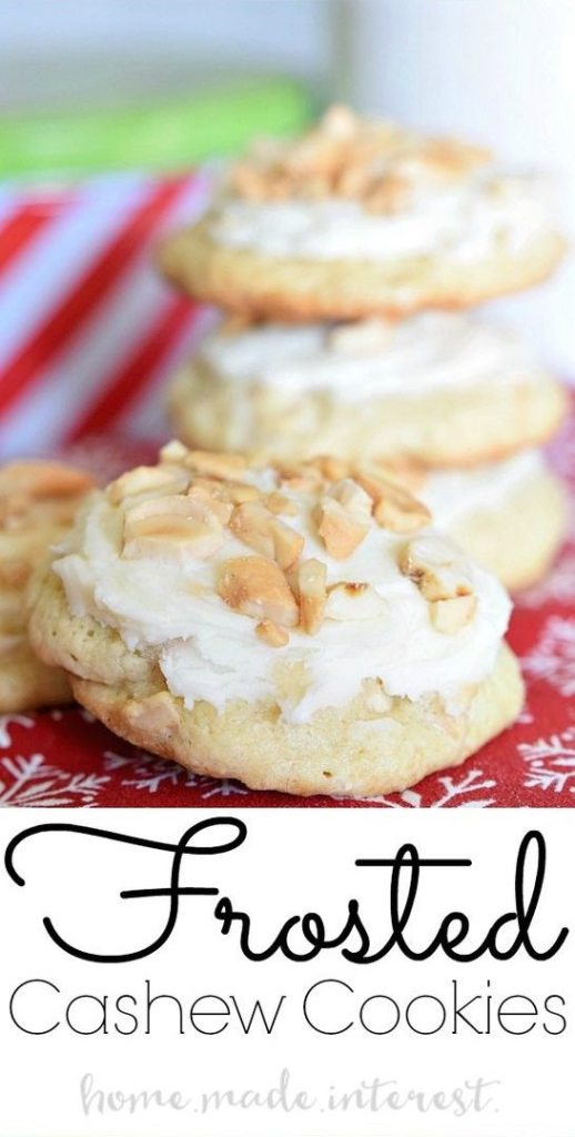 frosted-cashew-cookies