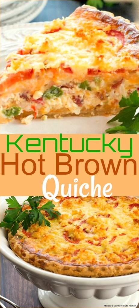Cheesy Kentucky Hot Brown Quiche