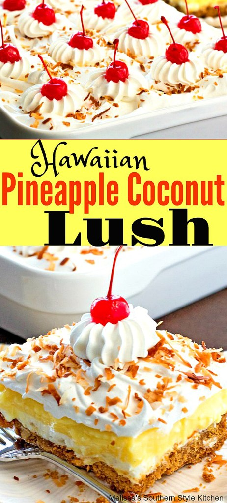 Hawaiian Pineapple Coconut Lush