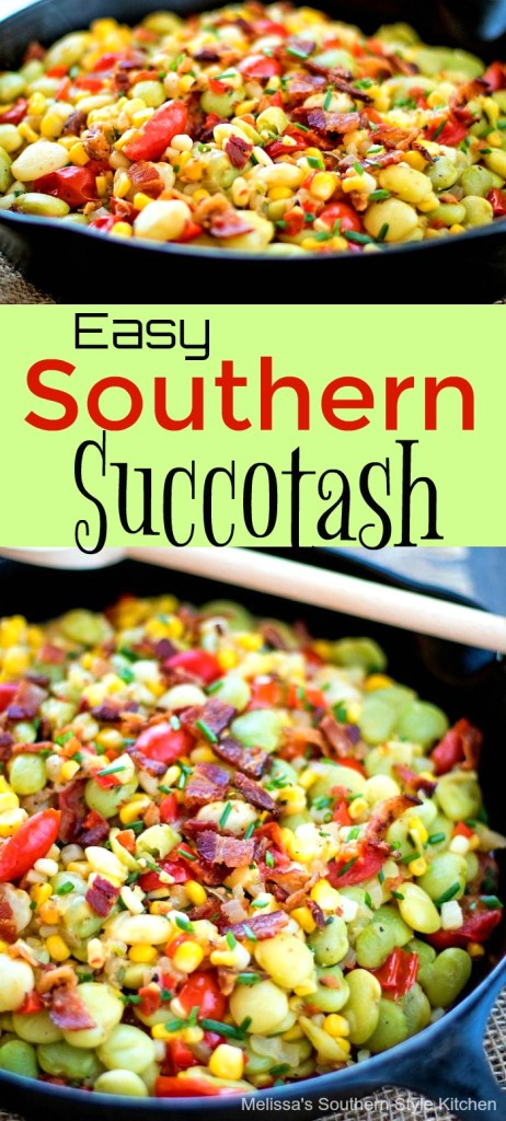 Easy Southern Succotash