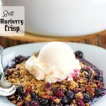 Best Blueberry Crisp