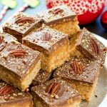 Caramel Pecan Turtle Scotcheroos